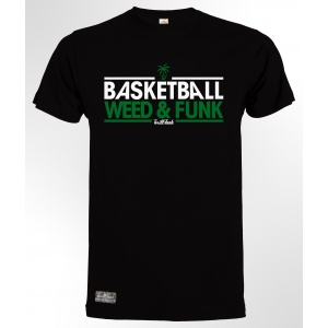 T-Shirt Basketball Weed & Funk Black