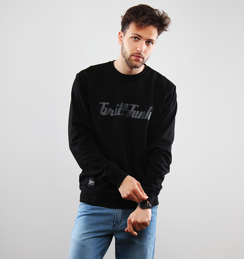 Bluza Grill-Funk Classic Black on Black