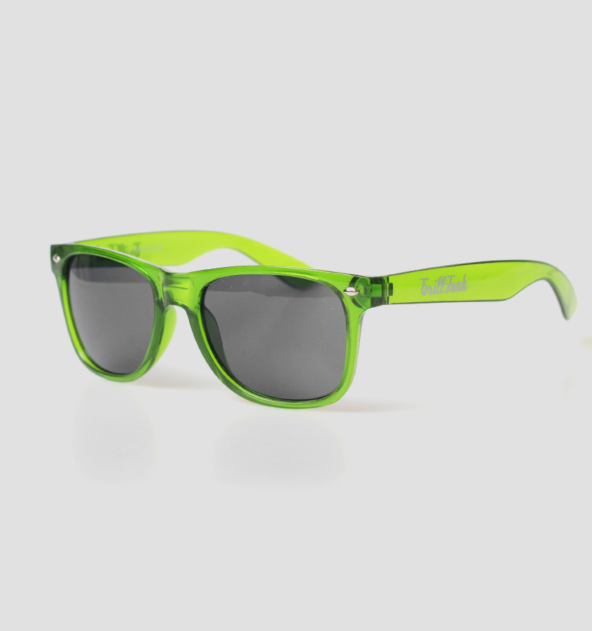 Okulary Grill-Funk Classic Transparent Green